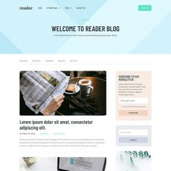 MyThemeShop Reader WordPress Theme