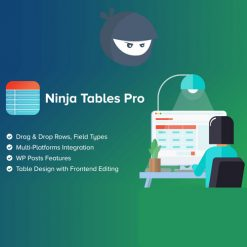 Ninja Tables Pro – The Fastest and Most Diverse WP DataTables Plugin