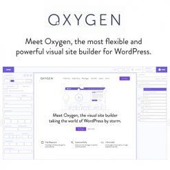 Oxygen 2.0 - The Visual Website Builder
