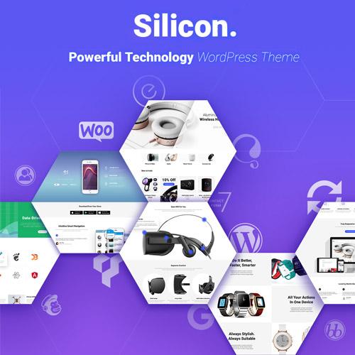 Silicon - Startup and Technology WordPress Theme