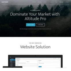 StudioPress Altitude Pro Genesis WordPress Theme