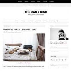 StudioPress Daily Dish Pro Genesis WordPress Theme