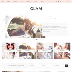 StudioPress Glam Pro Genesis WordPress Theme