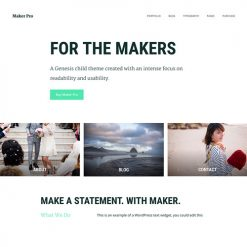 StudioPress Maker Pro Genesis WordPress Theme