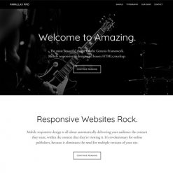 StudioPress Parallax Pro Genesis WordPress Theme