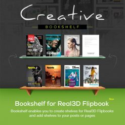 Bookshelf for Real3D Flipbook Addon