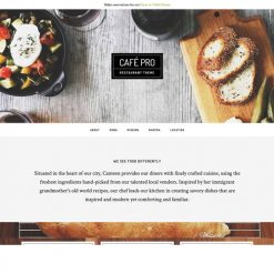 StudioPress Cafe Pro Genesis WordPress Theme