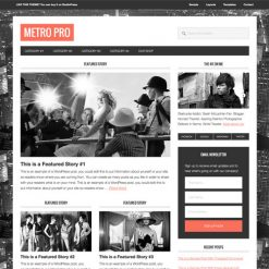 StudioPress Metro Pro Genesis WordPress Theme