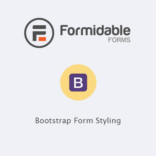 Formidable Forms - Bootstrap Form Styling