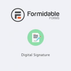 Formidable Forms - Digital Signature