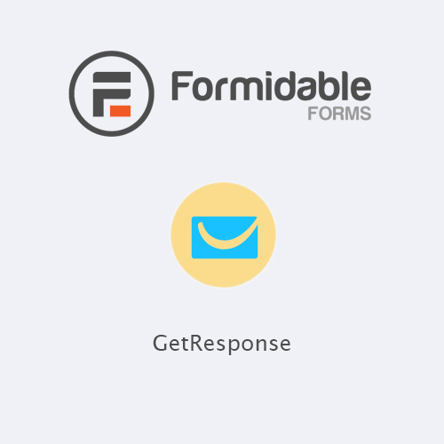 Formidable Forms - GetResponse