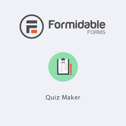 Formidable Forms - Quiz Maker