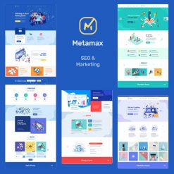 MetaMax - SEO and Marketing WordPress Theme