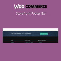 Storefront Footer Bar