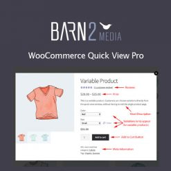 WooCommerce Quick View Pro By Barn2