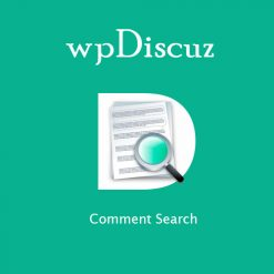 wpDiscuz - Comment Search