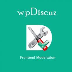 wpDiscuz - Frontend Moderation