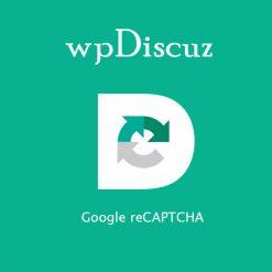 wpDiscuz - Google reCAPTCHA