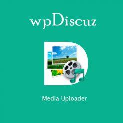 wpDiscuz - Media Uploader