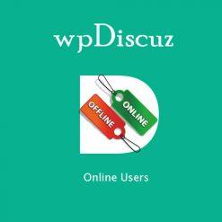wpDiscuz - Online Users