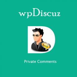 wpDiscuz - Private Comments