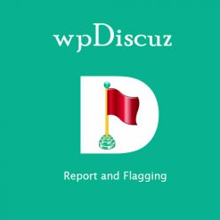 wpDiscuz - Report and Flagging