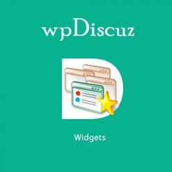 wpDiscuz - Widgets