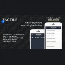 Tactile: WordPress Mobile Menu