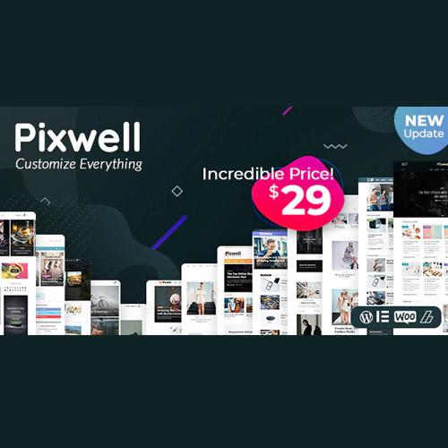 Pixwell - Modern Magazine,