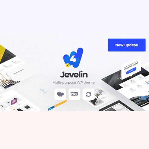 Jevelin | Multi-Purpose Responsive WordPress AMP Theme,