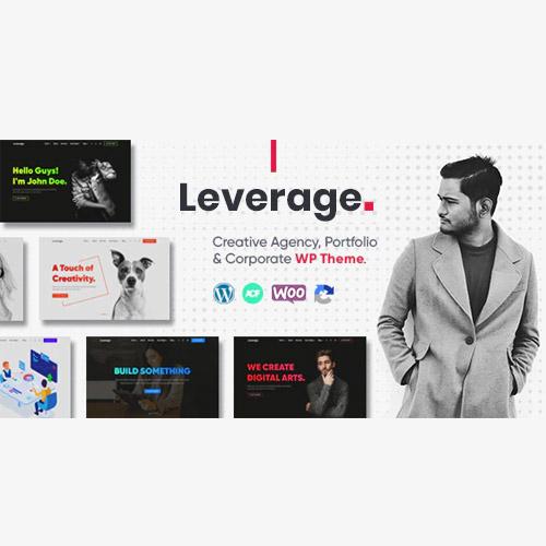 Download Leverage Creative Agency & Portfolio WordPress Theme