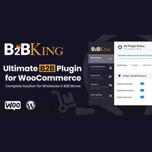 B2BKing – The Ultimate WooCommerce B2B & Wholesale Plugin
